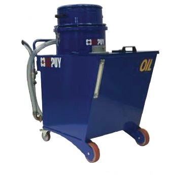 Celokovové průmyslové vysavače na olej a špony