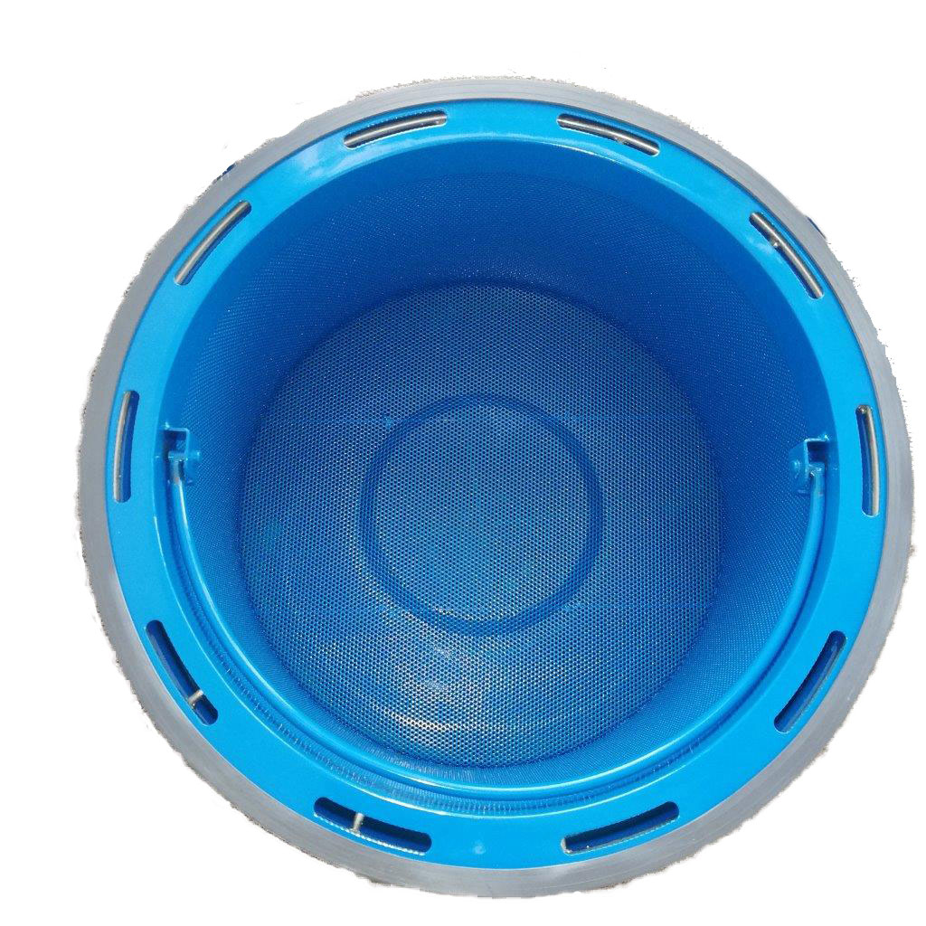 W2-OIL_filtr-síto-v-nádobě